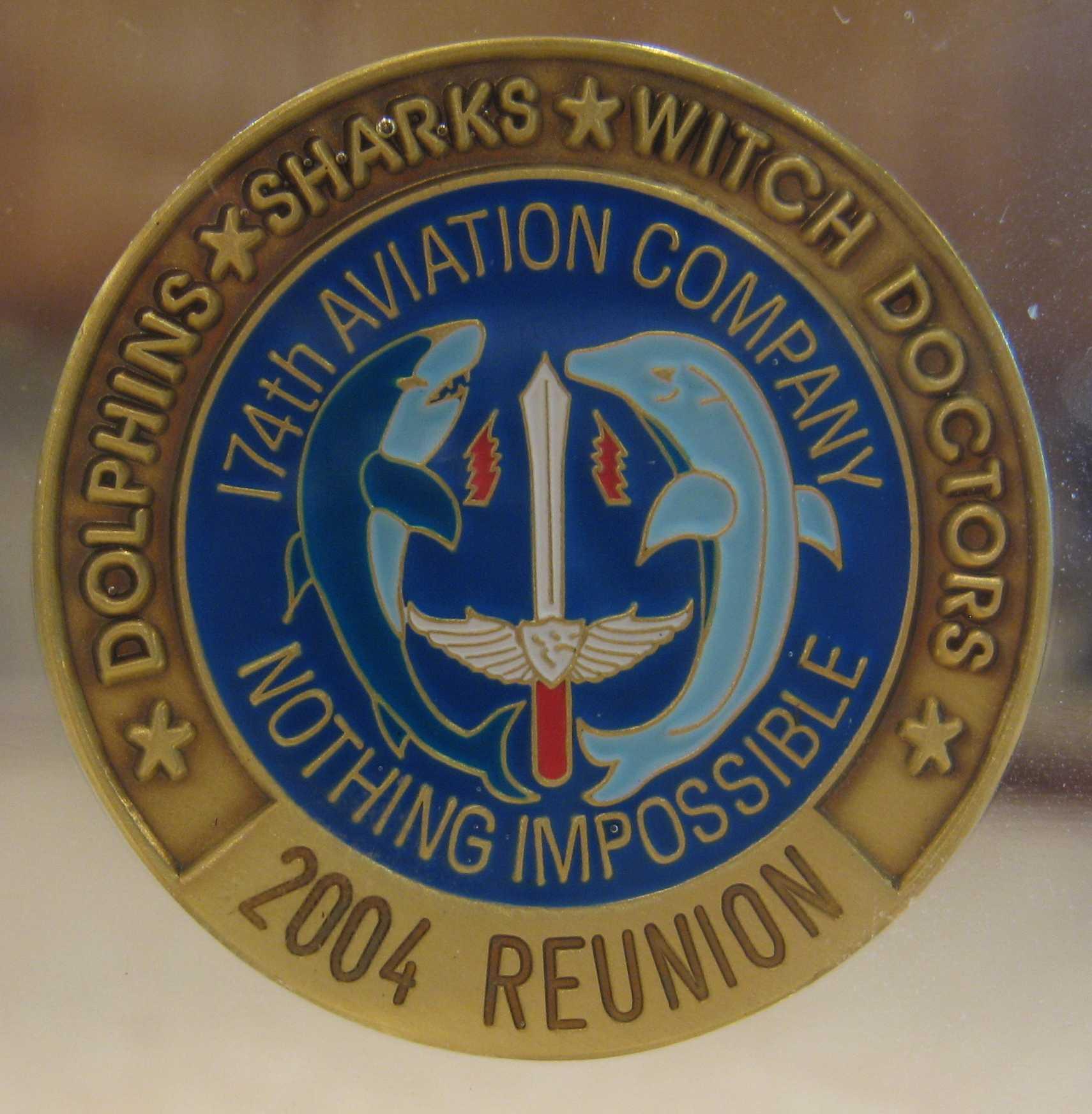 174th ahc 2015 reunion - 174th Ahc Challenge Coins